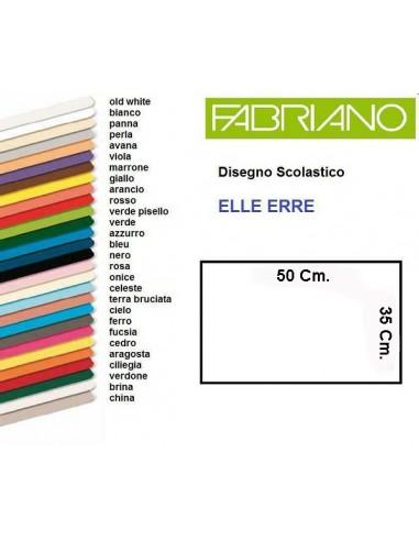 FOGLIO FABRIANO MARRONE 35 X 50 da 0,31€ - R&D Cartoleria