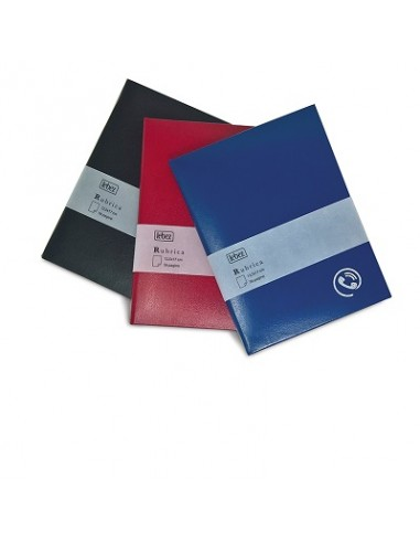 RUBRICA IN VINILE 12,5 X 17 VARI COLORI da 4,38€ - R&D Cartoleria
