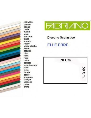 FOGLIO FABRIANO GIALLO 50 X 70 * da 0,55€ - R&D Cartoleria