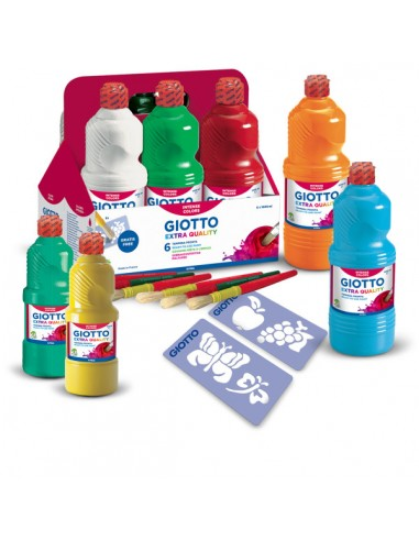 TEMPERA PRONTA GIOTTO NERA FLAC.1000 ML* da 3,66 € - R&D Cartoleria