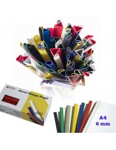 DORSO CLIP 6MM VARI COLORI* da 0,16€ - R&D Cartoleria