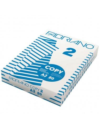 CARTA A/3 80 GR. RISMA 500 FG. FABRIANO COPY 2 da 8,82€ - R&D Cart...