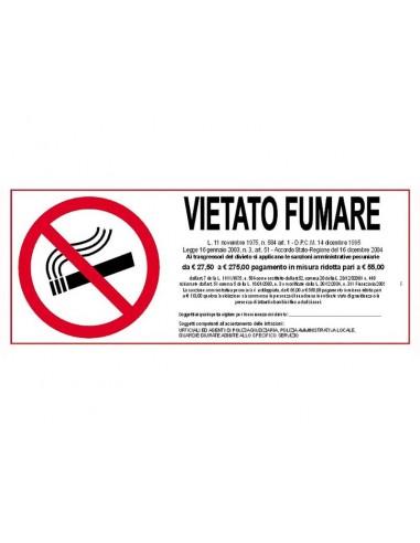 CARTELLO VIETATO FUMARE da 0,51€ - R&D Cartoleria