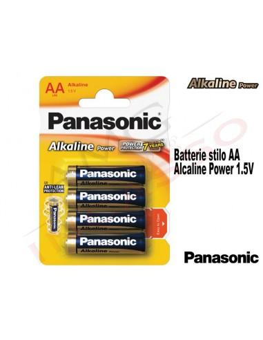 BATTERIA STILO PANASONIC ALKALINE POWER/BL4 da 1,52€ - R&D Cartoleria