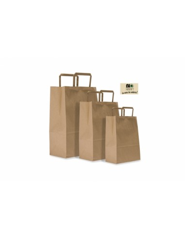 SHOPPER BIOKRAFT 22 X 10 X 29AVANA da 0,20 € - R&D Cartoleria