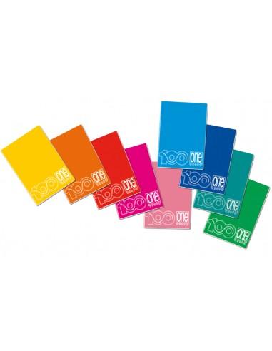 QUADERNO MAXI ONECOLOR 38 FG. 100 GR. RIG. Q da 0,92€ - R&D Cartol...