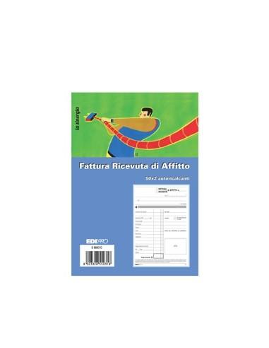 RICEVUTA AFFITTO 50/50 COD.S3025 da 1,90€ - R&D Cartoleria