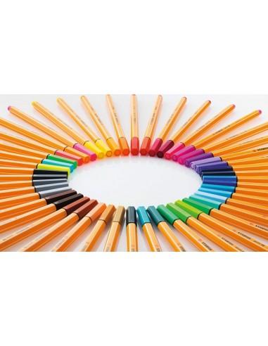 STABILO PEN 88 0,4 BLU OLTREMARE 88/32 da 0,92€ - R&D Cartoleria